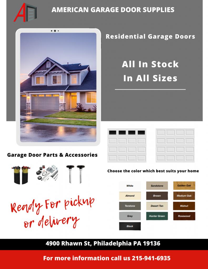 8 ft x 7 ft Garage Doors